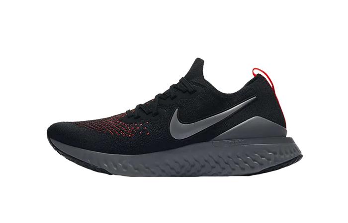 Nike Epic React Flyknit 2 Black CJ9695-001 01