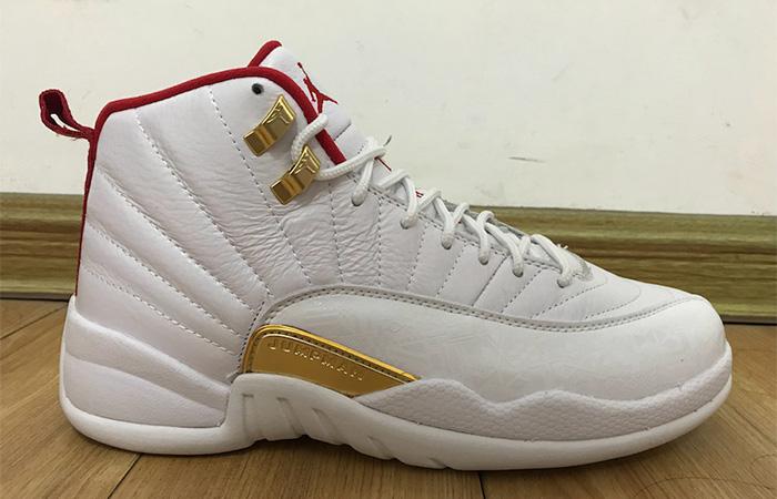 Nike Jordan 12 FIBA Pure White 130690-107 02