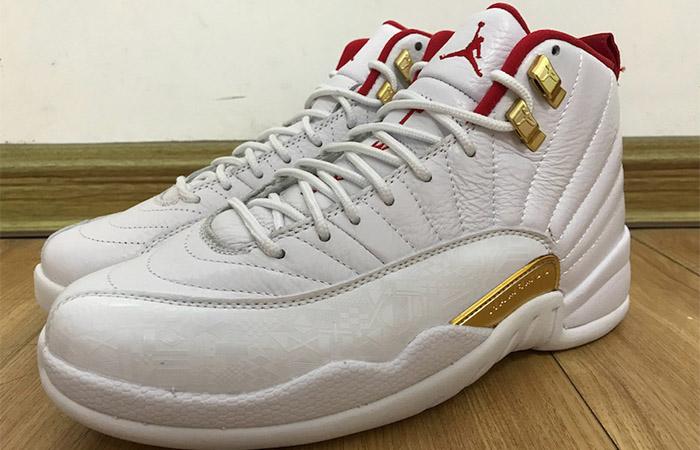Nike Jordan 12 FIBA Pure White 130690-107 03