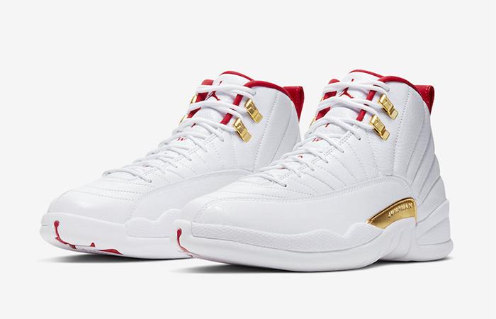 Nike Jordan 12 FIBA Pure White 130690-107 05