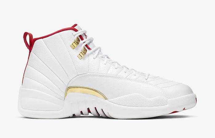 Nike Jordan 12 FIBA Pure White 130690-107 06