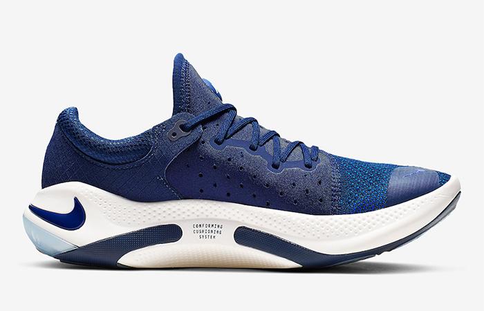 Nike Joyride Run Flyknit Blue Void AQ2730-400 03
