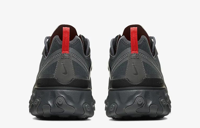 Nike React Element 55 Black Grey CQ4809-001 05