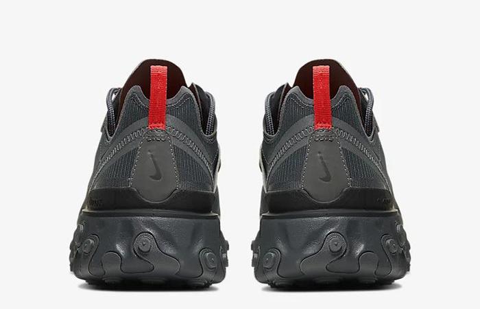 Nike React Element 55 Black Grey CQ4809-001 05