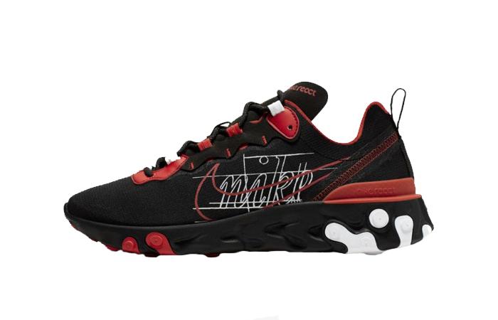 Nike React Element 55 Script Swoosh Pack Habanero Red CK9285-001 01