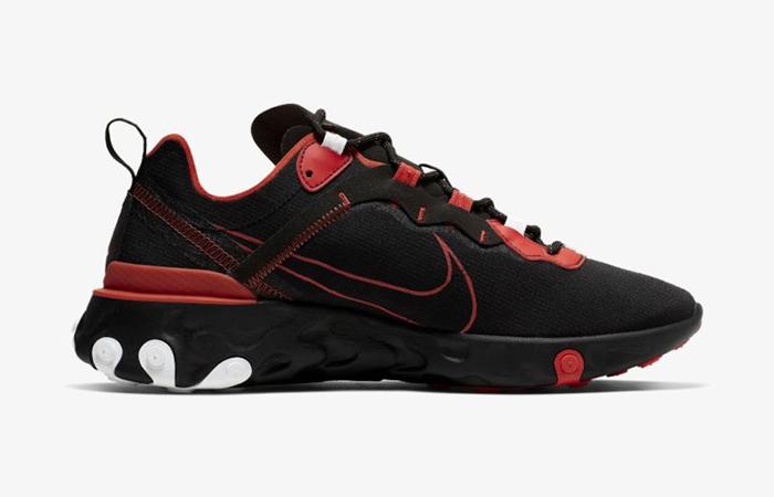 Nike React Element 55 Script Swoosh Pack Habanero Red CK9285-001 03