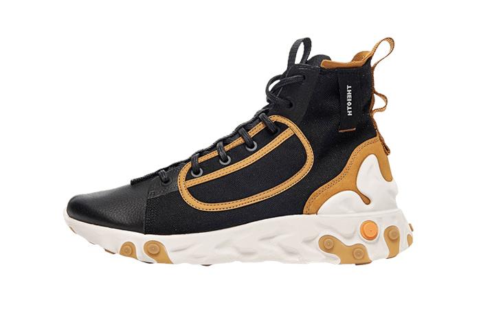 Nike React Ianga Black Brown AV5555-001 01