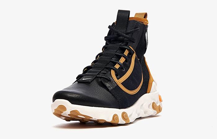 Nike React Ianga Black Brown AV5555-001 02