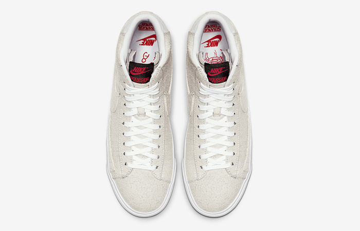 Nike Stranger Things Blazer Mid QS Upside Down Sail CJ6102-100 04