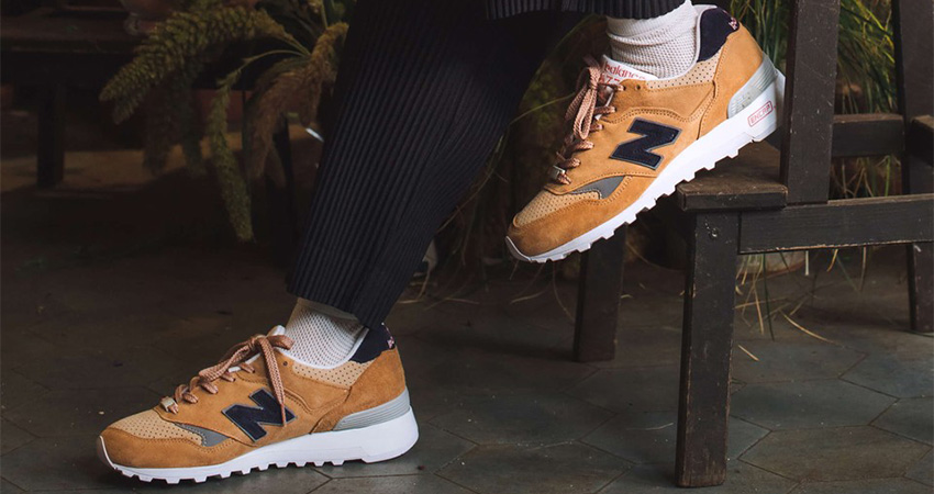 Now Its Time To Look At The Sneakersnstuff And New Balance 577 Collaboration