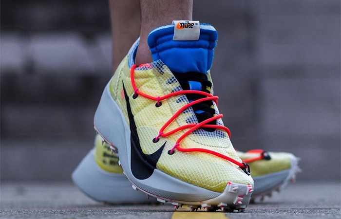 Off-White Nike Vapor Street Tour Yellow CD8178-700 on foot 02