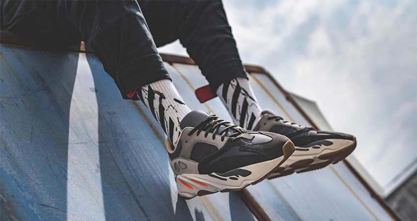 On Foot Look At The Yeezy Boost 700 Magnet 01