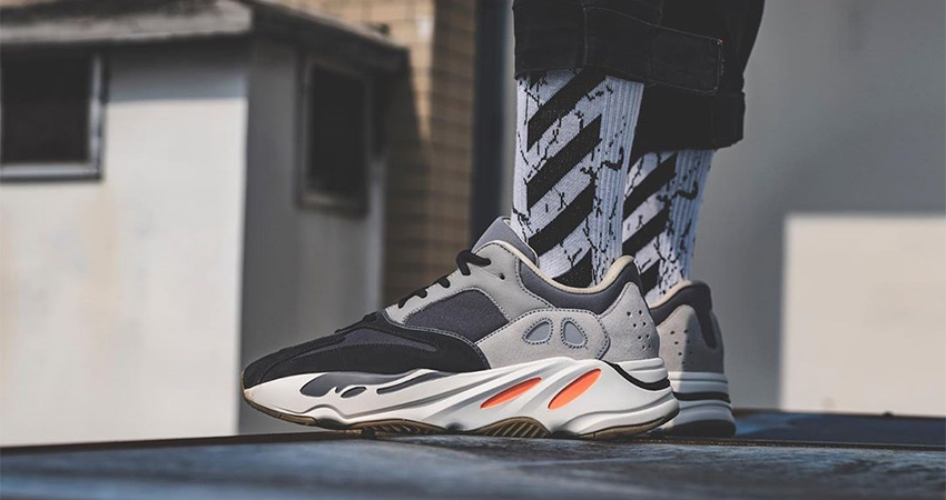 On Foot Look At The Yeezy Boost 700 Magnet 02