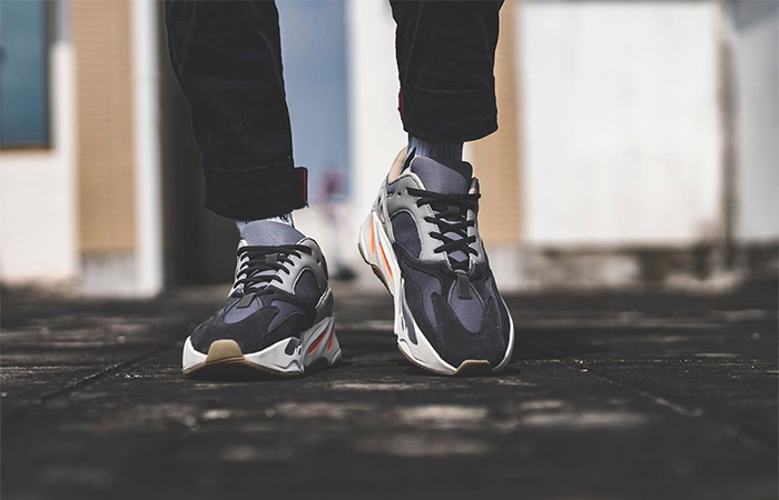 On Foot Look At The Yeezy Boost 700 Magnet ft
