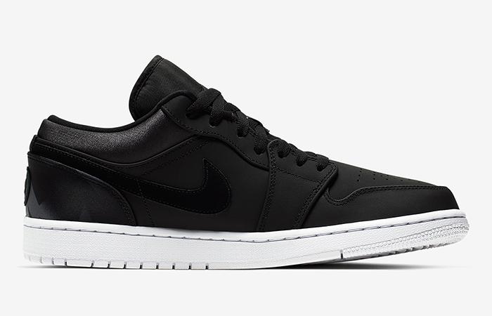 PSG Nike Air Jordan 1 Low Black CK0687-001 03