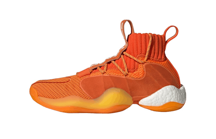 Pharrell adidas Crazy BYW Orange EG7728 01