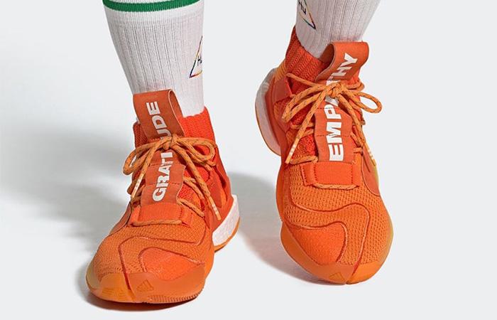 adidas crazy byw orange