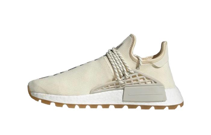Pharrell adidas NMD Hu Cream White EG7737 01