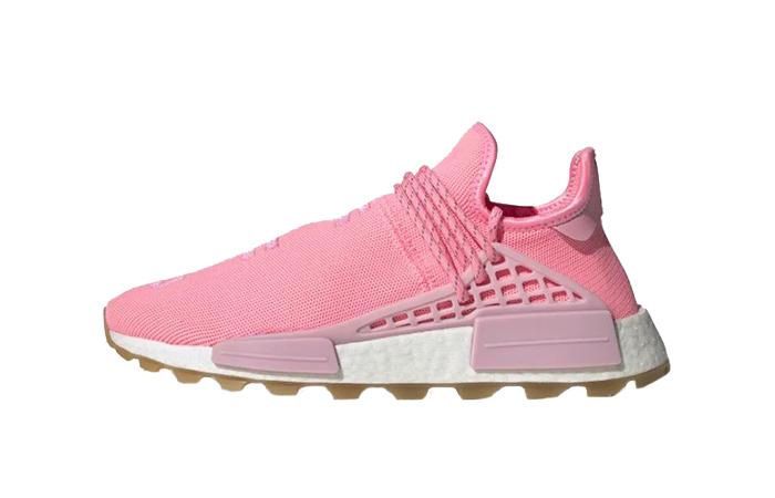 Pharrell adidas NMD Hu Gum Pack Pink EG7740 01