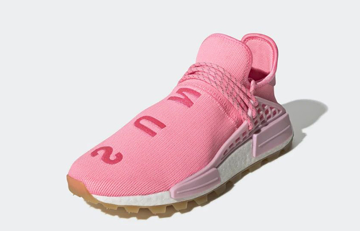 Pharrell adidas NMD Hu Gum Pack Pink EG7740 02