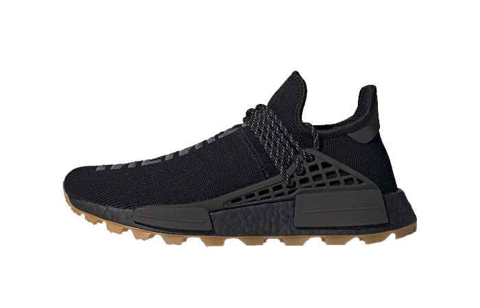 Pharrell adidas NMD Hu Trail Core Black EG7836 01