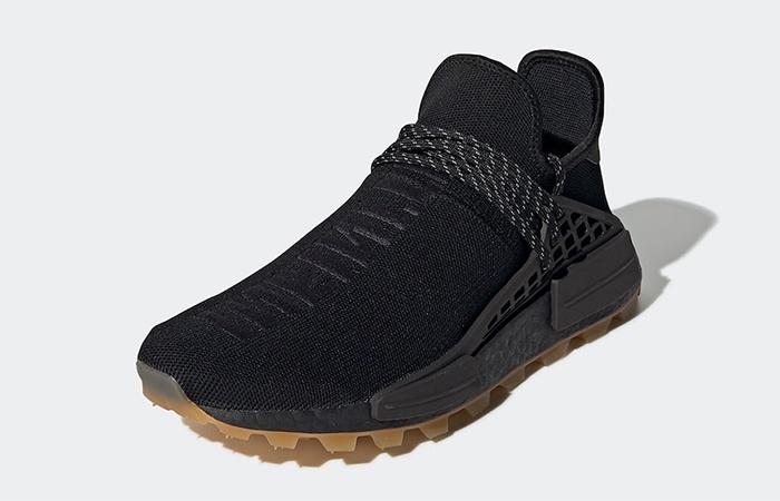 Pharrell adidas NMD Hu Trail Core Black EG7836 02