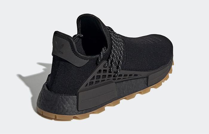 Pharrell adidas NMD Hu Trail Core Black EG7836 04