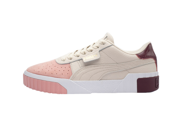 Puma Cali Remix Beige Pink 369968-01 01