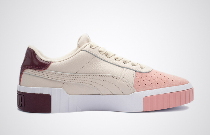 Puma Cali Remix Beige Pink 369968-01 03