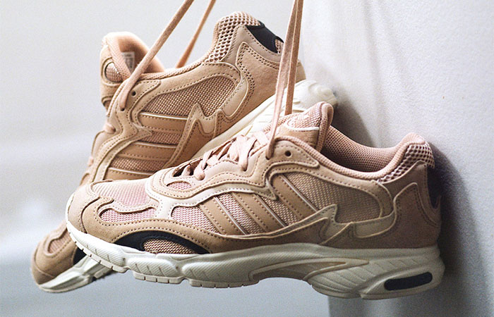 SNS Exclusive adidas Temper Run Pale Nude EE6595 02