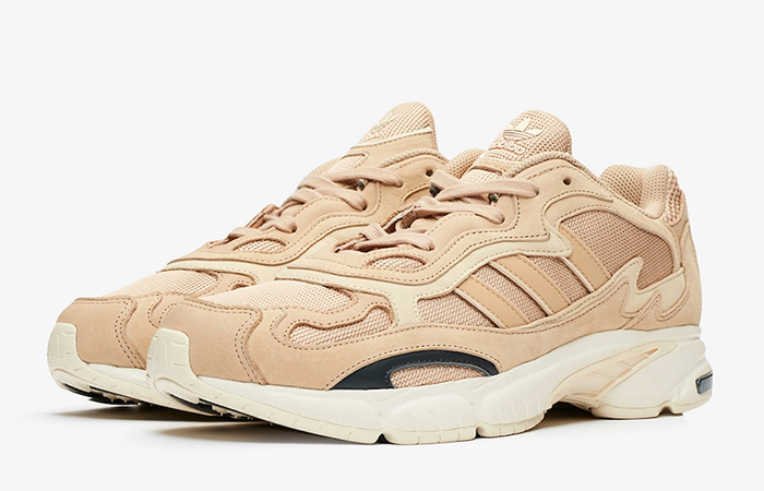 SNS Exclusive adidas Temper Run Pale Nude EE6595 03