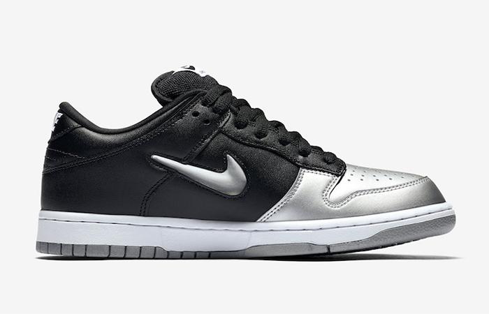 Supreme Nike SB Dunk Low Black Metallic Silver CK3480-001 03