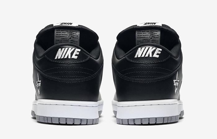 Supreme Nike SB Dunk Low Black Metallic Silver CK3480-001 05