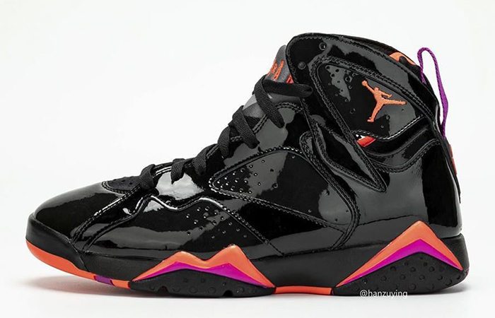 The Air Jordan 7 Comes With Shiny Patent Leather ft