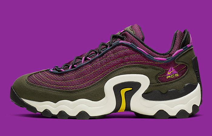 The Nike ACG Skarn Brining Another Piece With A Burgendy Colorway ft