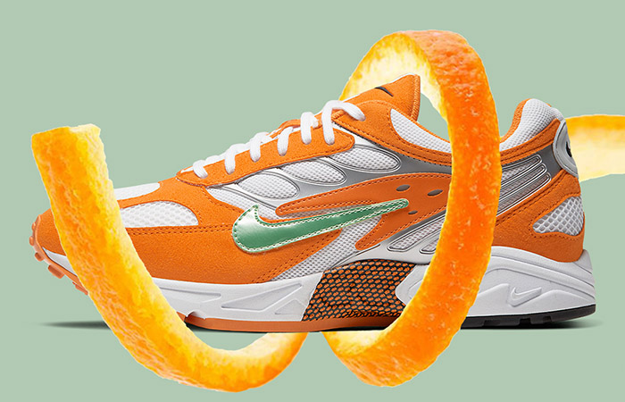 The Nike Air Ghost Racer Coming With In Orange Peel Theme ft