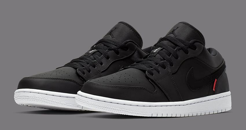 The PSG Nike Air Jordan 1 Low Releasing Soon 01