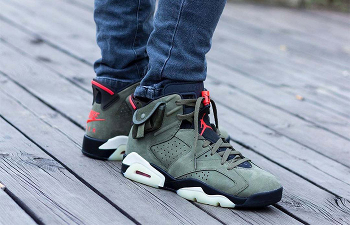 The Travis Scott Air Jordan 6 'Cactus Jack' Latest Release Info ft