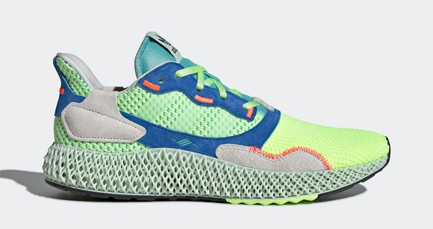 The adidas ZX 4000 4D Hi Res Yellow Releasing Soon 02