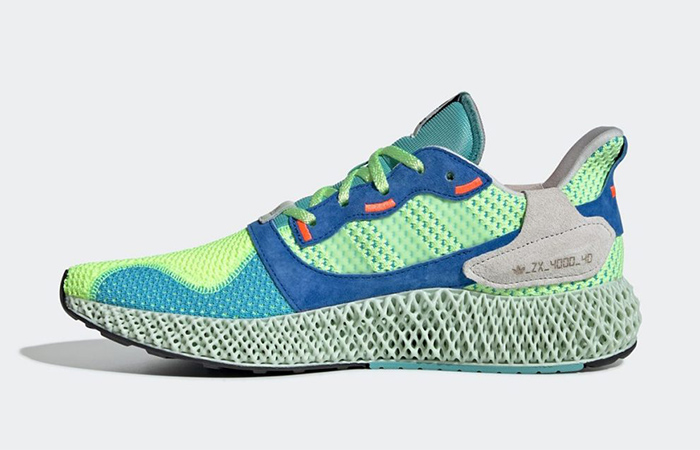 The adidas ZX 4000 4D Hi Res Yellow Releasing Soon ft