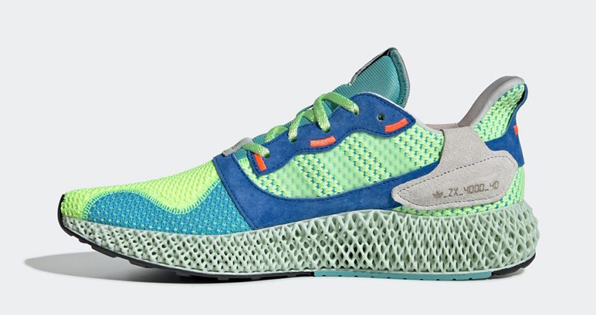 The adidas ZX 4000 4D Hi Res Yellow Releasing Soon