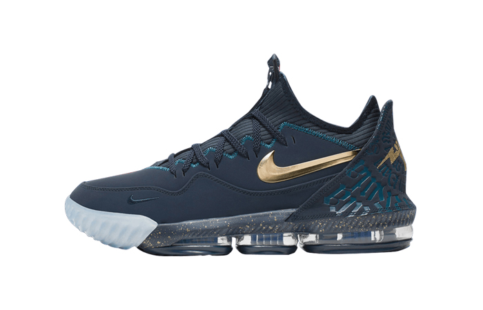 Titan Nike LeBron 16 Low Agimat CJ9919-400 01