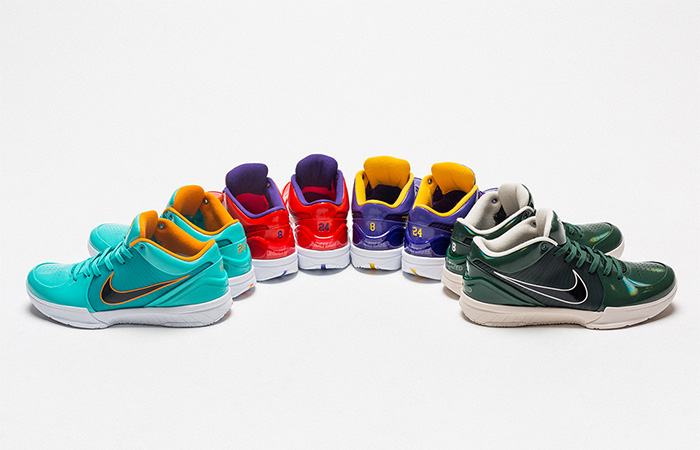 UNDEFEATED Exposed Nike Kobe 4 Protro Collaboration With Four Colourful Sneaker ft