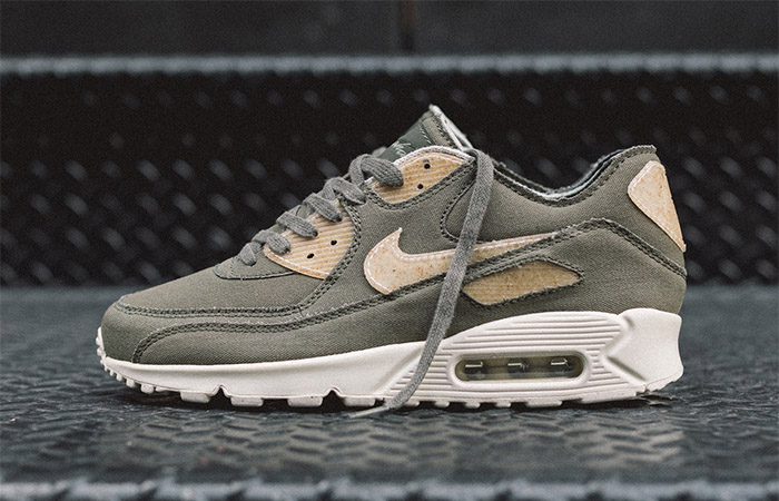 Upcoming Maharishi Nike Air Max 90 Maha Olive Crafted With 100% Pure Cotton ft