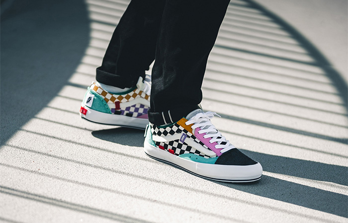 Vans Droping More Old Skool Cap LX With An Exciting Muti Coloured Theme ft
