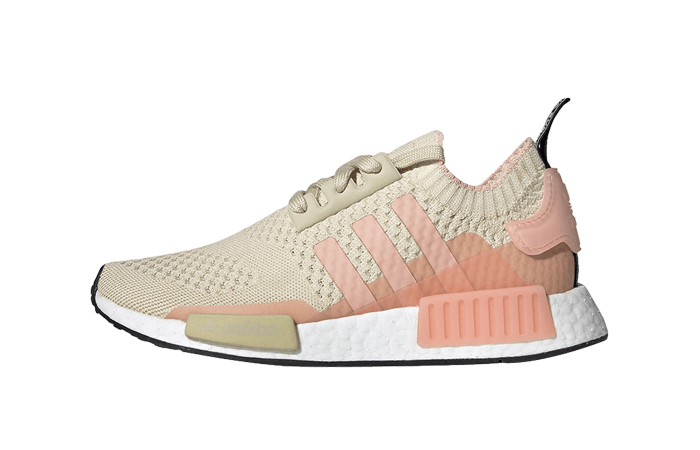 new arrival c4acf 07112 adidas NMD R1 Primeknit Desert Sand EE6434