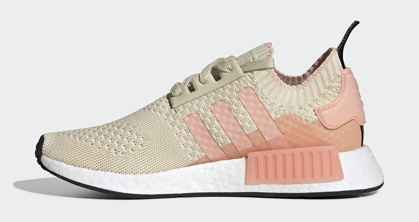 adidas NMD R1 Primeknit Returning With Desert Sand Colour 01