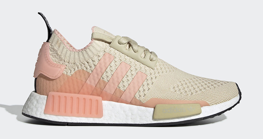 adidas NMD R1 Primeknit Returning With Desert Sand Colour 03