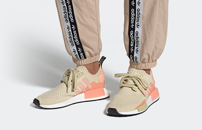 adidas NMD R1 Primeknit Returning With Desert Sand Colour ft