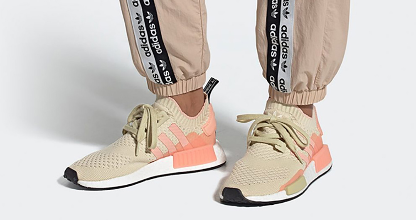 adidas NMD R1 Primeknit Returning With Desert Sand Colour